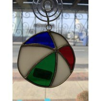 Beach Ball Stained Glass